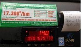 giấy in hóa đơn taxi