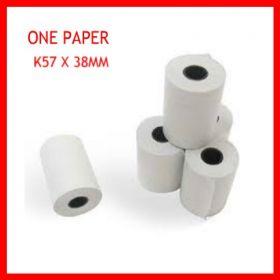 cuộn giấy in nhiệt k57 phi 38mm