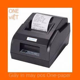 giấy in bill máy pos one paper